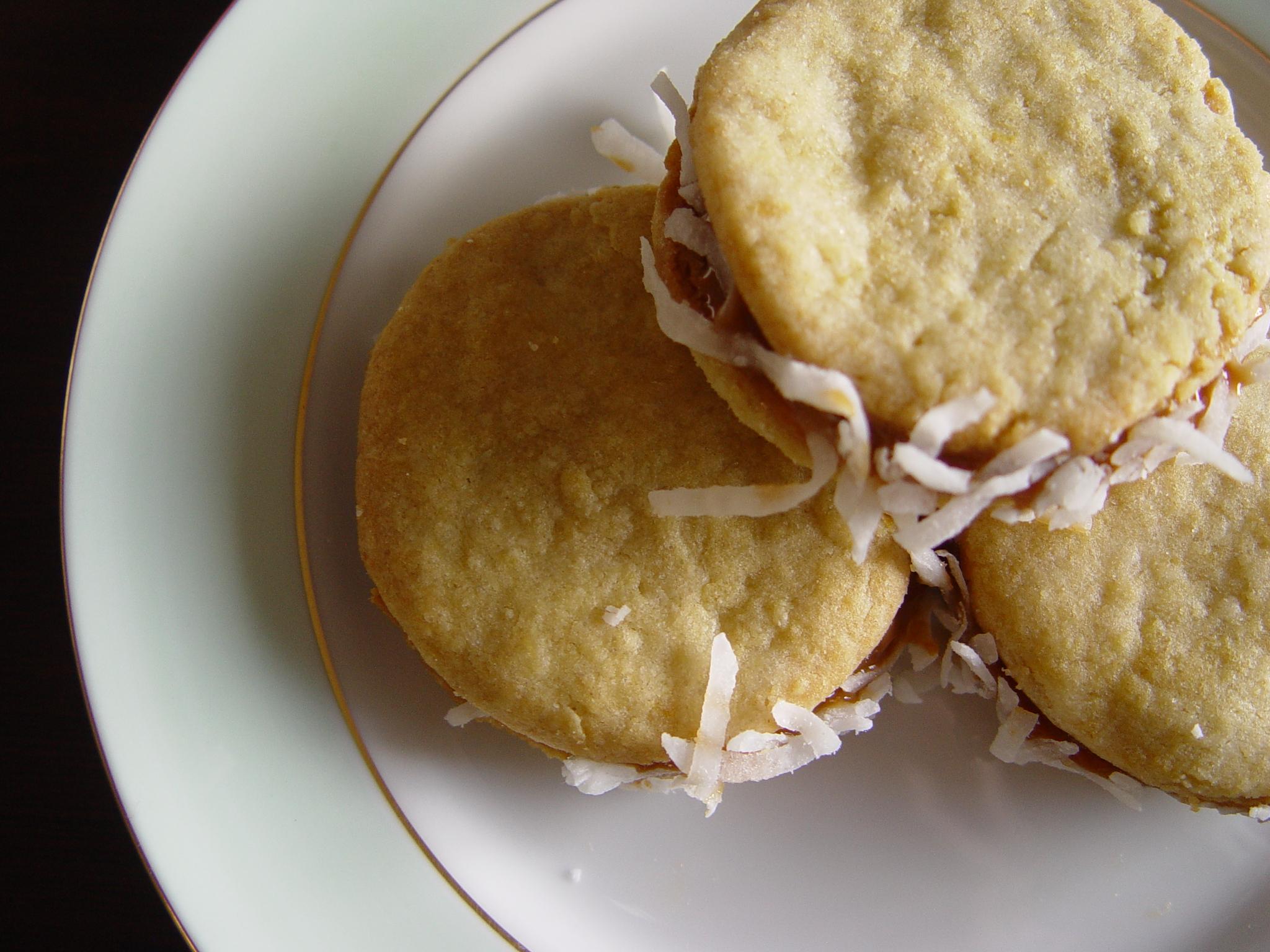 Argentina dulce de leche cookie recipe