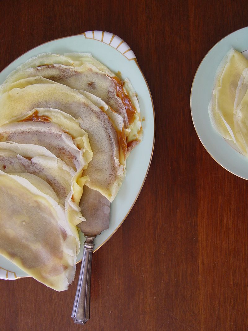 ... Argentina With Love: Panqueques--Crepes Filled With Dulce de Leche